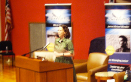 Keynoting the Indy Authors Fair (2011)