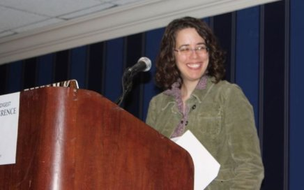 Jane Friedman speaking at the 2011 Writer's Digest Conference