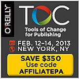 agent, author, books, digital, ebooks, Jane Friedman, Porter Anderson, publisher, publishing, Writing on the Ether, Tools of Change, O'Reilly Media, author platform, blog, blogging, journalism, Authors Launch, TOC Authors, Author (R)evolution Day, Publishing Perspectives, Ether for Authors, Ed Nawotka, FutureBook, #fbook12, Philip Jones, Sam Missingham, Nigel Roby, The Bookseller, TheFutureBook, Digital Census