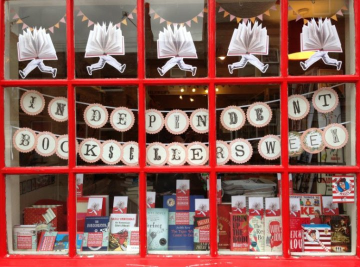 The Bookshop Kibworth, Leicestershire, celebrates Independent Booksellers Week in the UK. Image: IndependentBooksellersWeek.org.uk