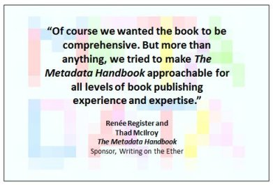 19 September 2013 Metadata Handbook excerpt 4
