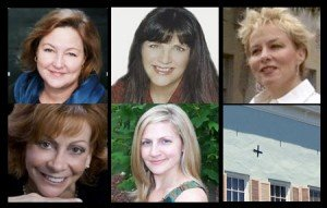 The producing team of PubSmart is, from upper left, Kathy Meis, Shari Stauch, Brenda McClain, Jacqueline Gum, and Kendra Haskins.