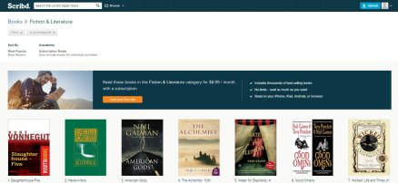 Scribd Fiction and Lit