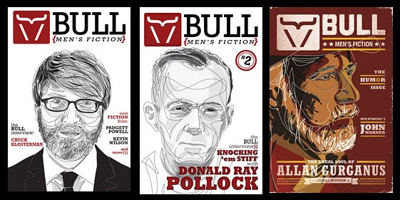 BULL Men's Fiction three editions