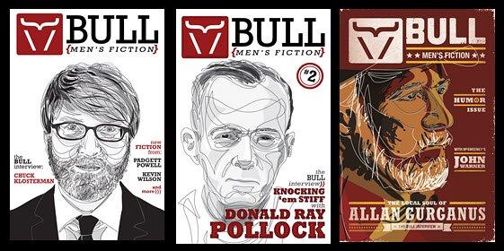 BULL Men's Fiction three editions