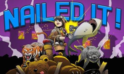 Abby Nailed It by Clay Graham via ArtCorgi