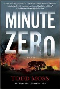 Cover of Minute Zero, by Todd Moss
