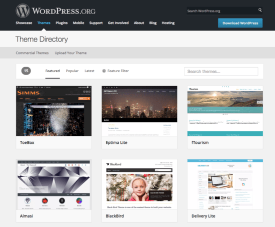 How to choose the right WordPress theme