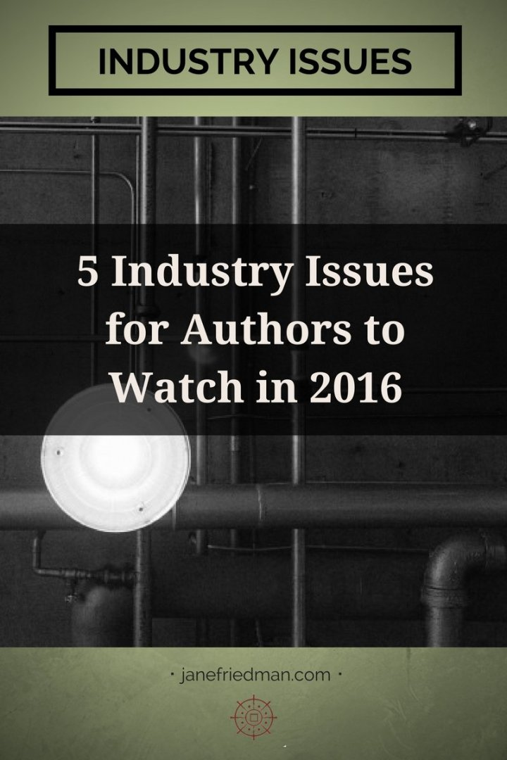 In this post, I round up some of the most important headlines and stories that we reported on that every writer should keep an eye on in 2016.