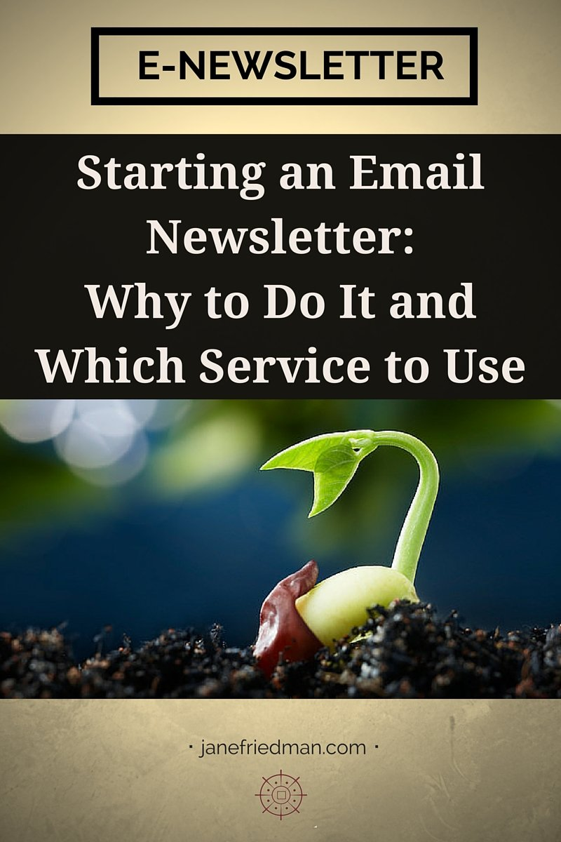 Starting an Email Newsletter: Why Do It + Which Service to Use