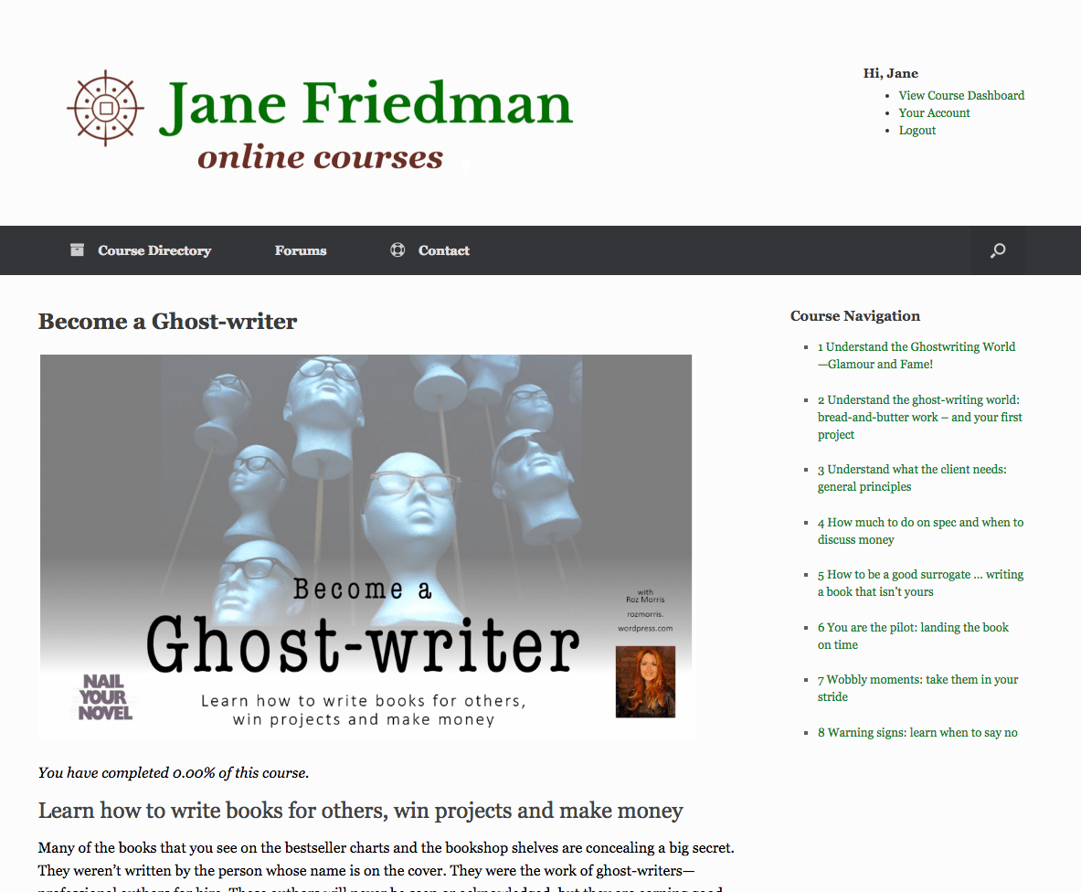 Ghostwriter for hire financial booklet