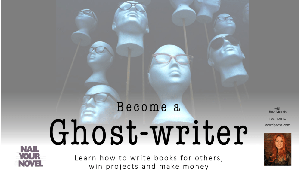 Writing a book with a ghost writer