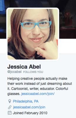 Jessica Abel bio