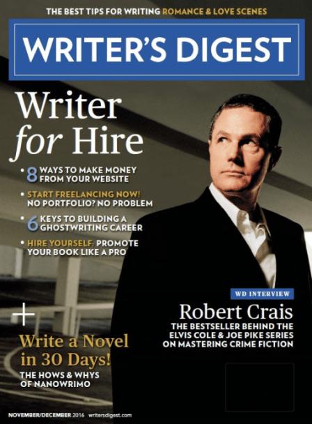 Nov/Dec 2016 Writer's Digest