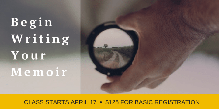 online memoir writing courses