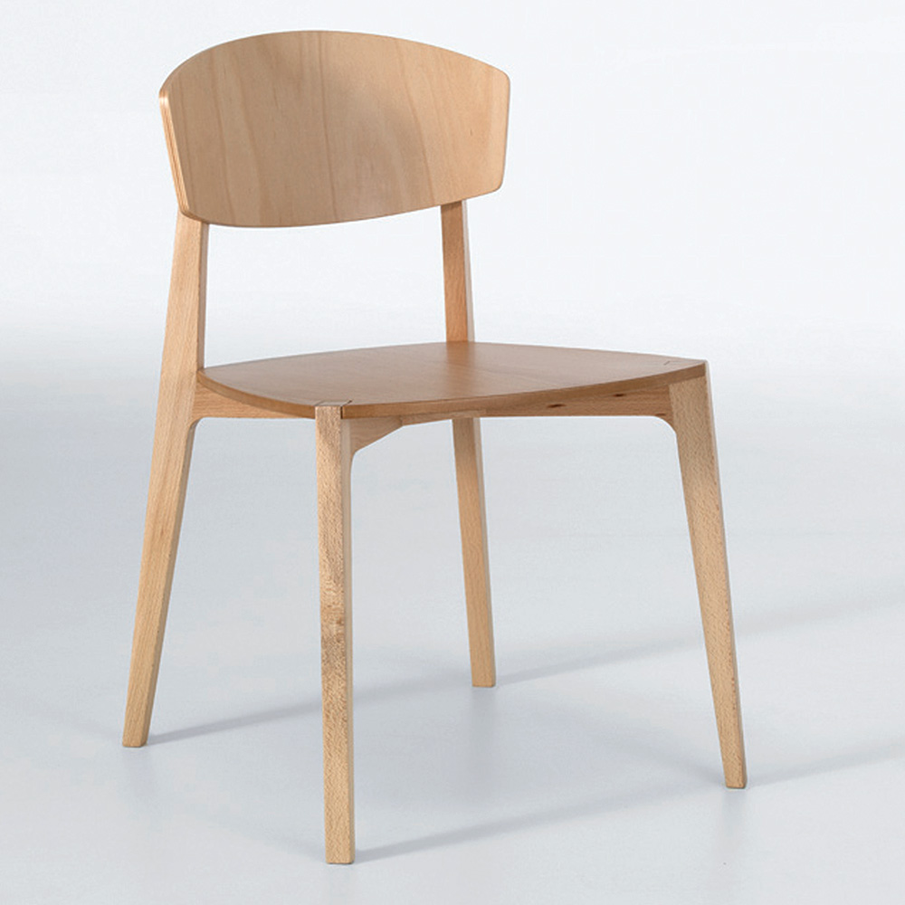 Stacking Dining Chairs Ekay Stacking Wood Chair Beech