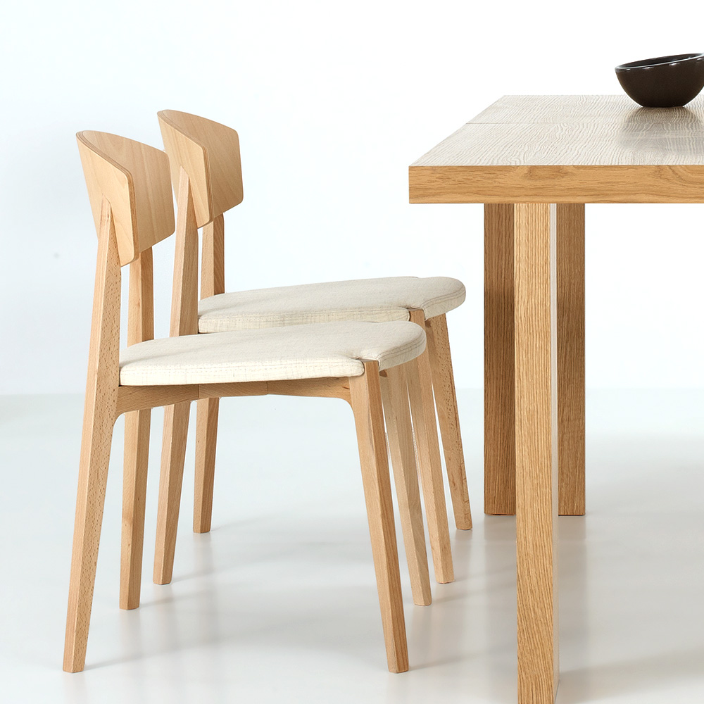 Stacking Dining Chairs Ekay Stacking Chair Upholstered Beech