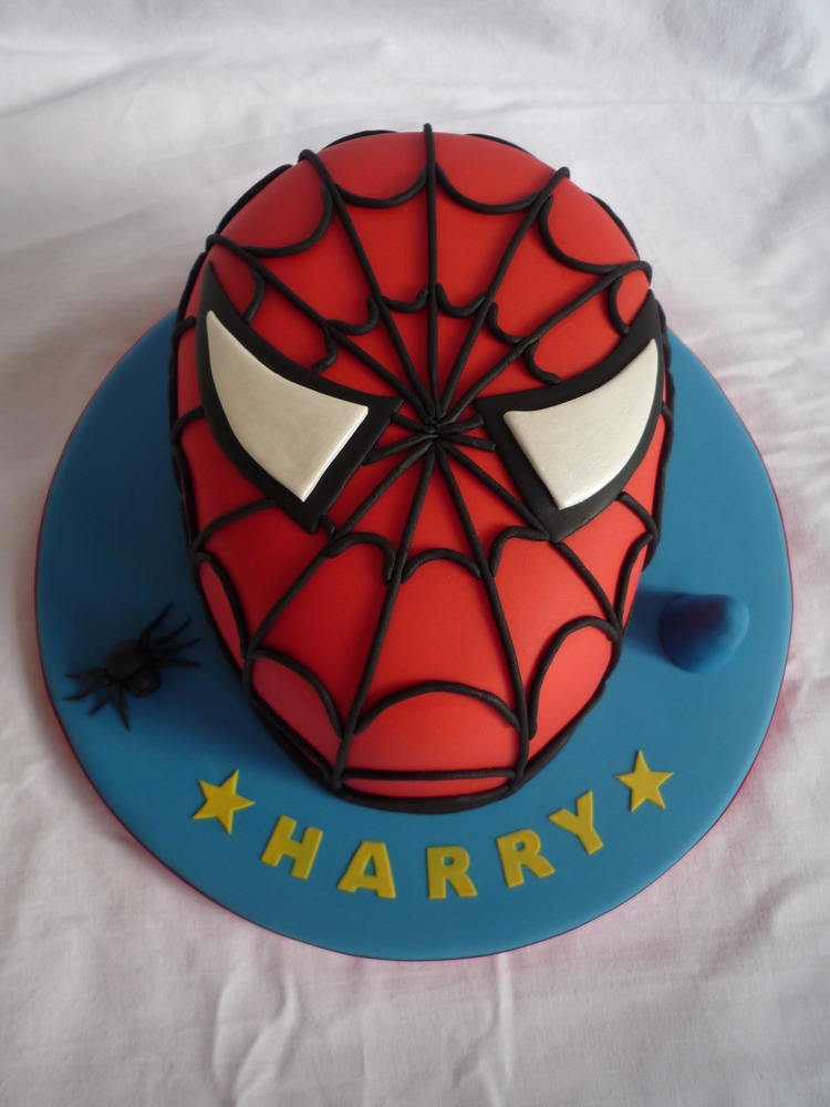 Spiderman Cake  janehuntley