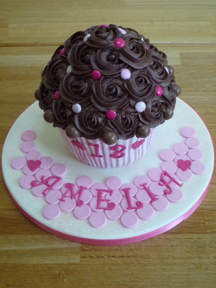 Giant Cupcake Janehuntley