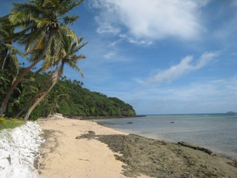 Strand beim Resort