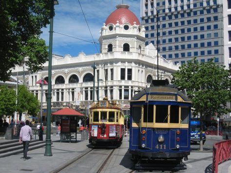 Straßenbahn in Christchurch