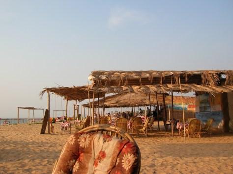 Typische Strandbude