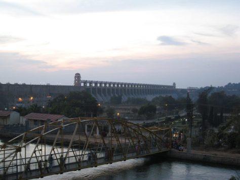 Tungabhadra Staudamm