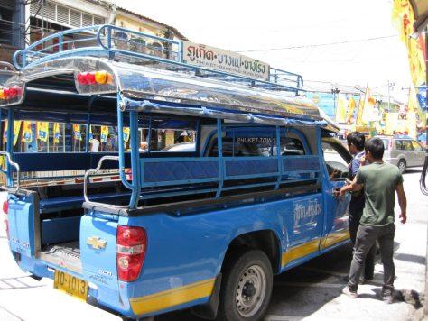 Ein öffentlicher Bus