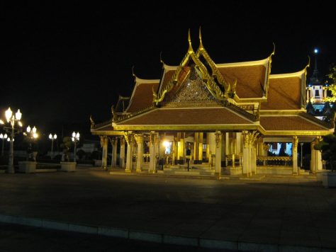 Wat Ratchanatdaram Tempelgelände