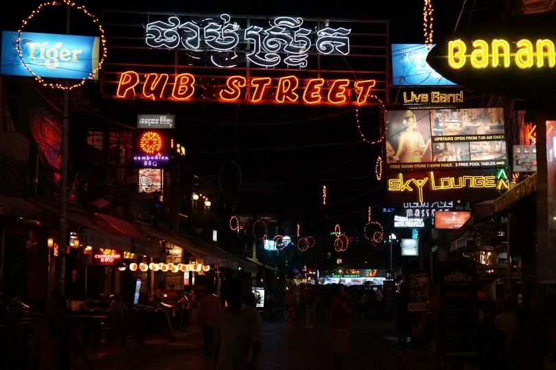 Partyareal Pub Street