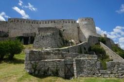 Festung in Knin - Festungsmauern