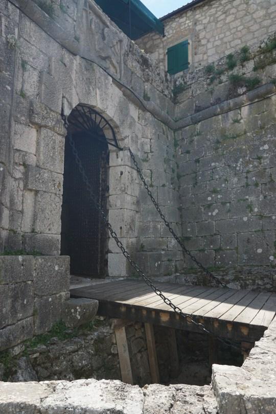 Festung in Knin