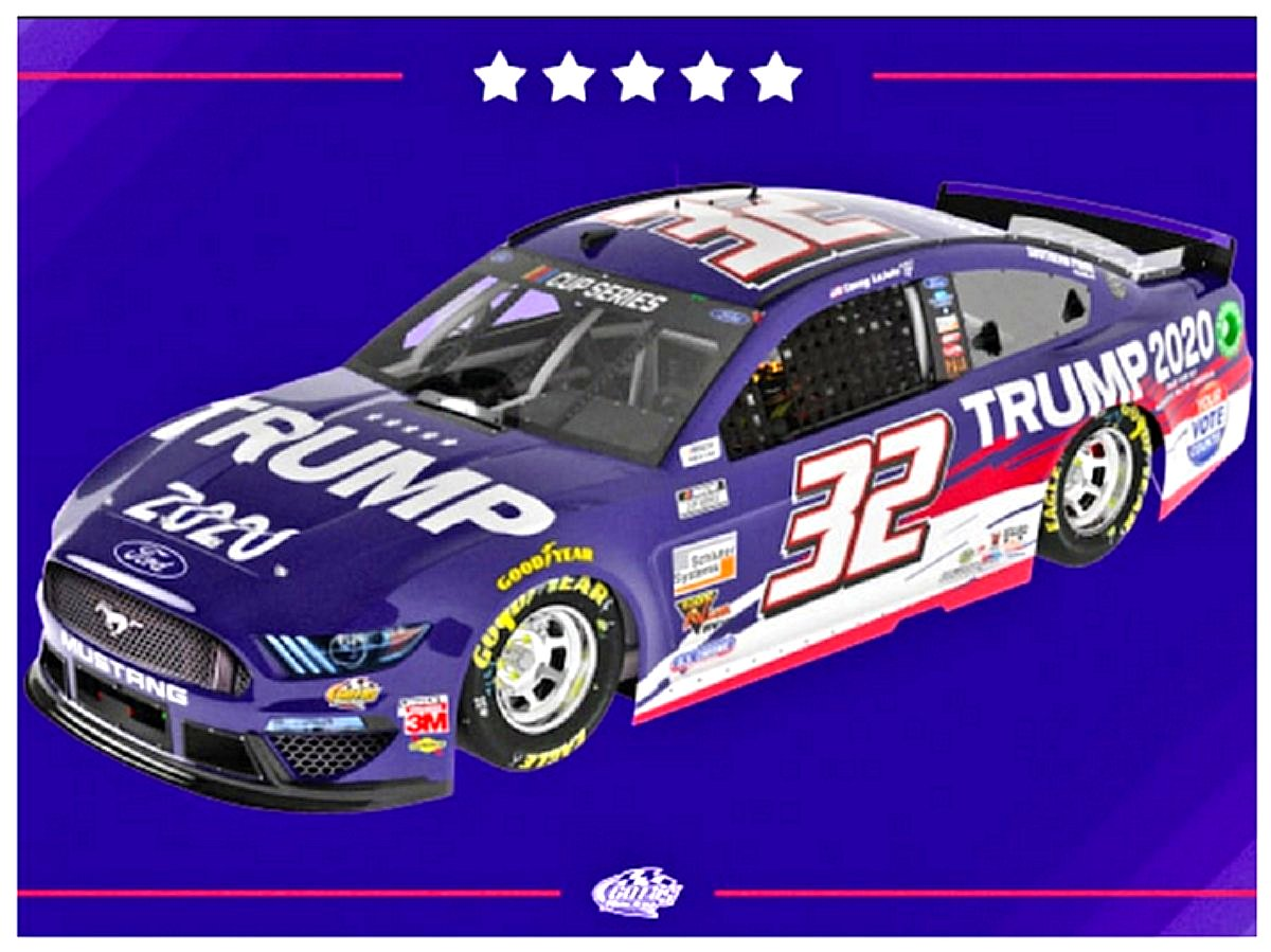 Go Fas Racing signed a contract to run the Trump 2020 Car in eight races this year. I won't watch but the buyers should get their money's worth.