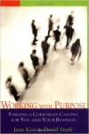 Book cover for Working with Purpose