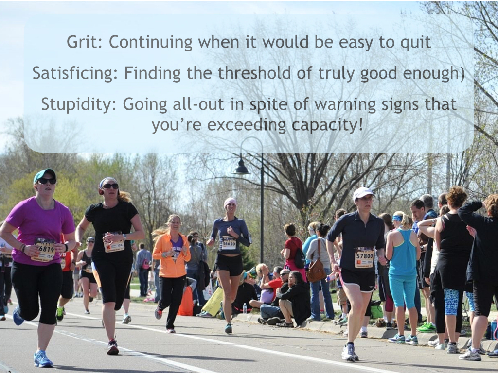 Can You Have Too Much Grit >> Grit Too Little Too Much Or Just Right
