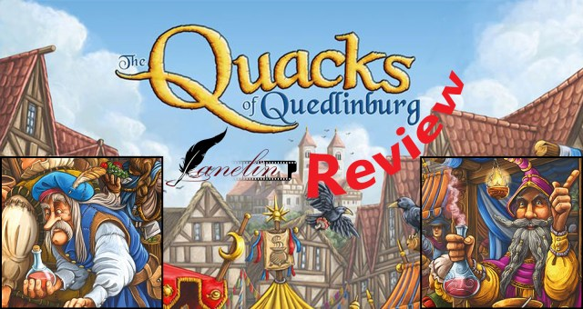 Quacks of Quedlinburg Review(Kwakzalvers van Kakelenburg)