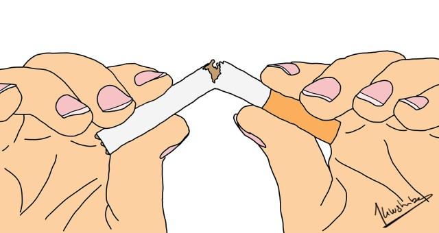 Hoe help je iemand stoppen met roken?