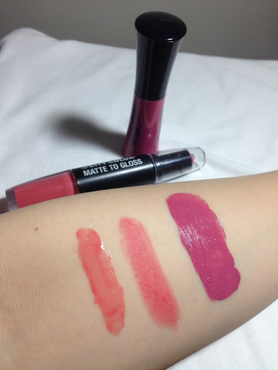 Left to Right: Coral Dazzle and Flirtini