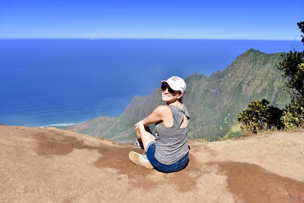 Pihea trail lookout