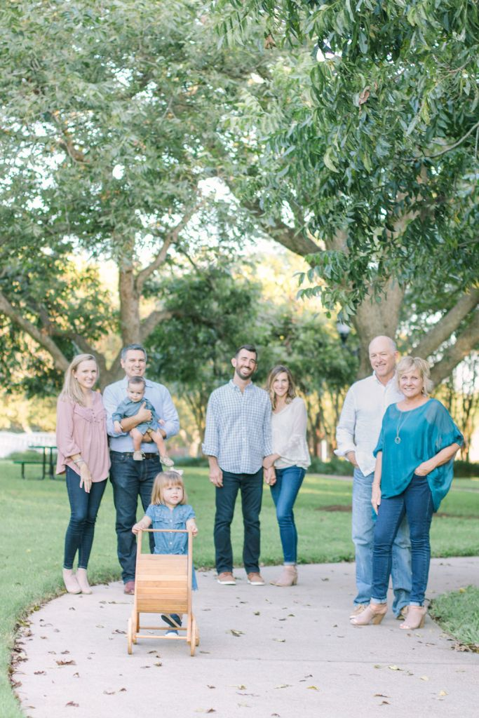 Extended family in Pecan Park