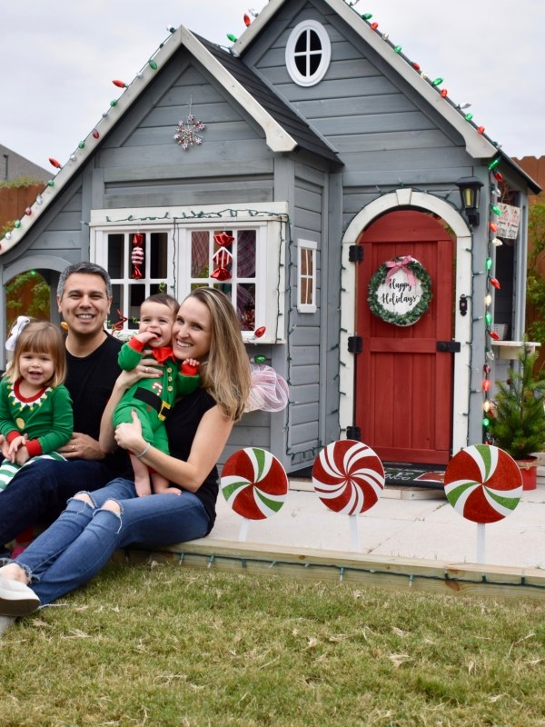 Christmas Playhouse Decorations