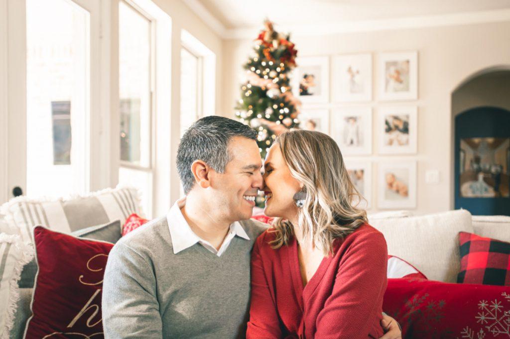 Husband and wife Christmas