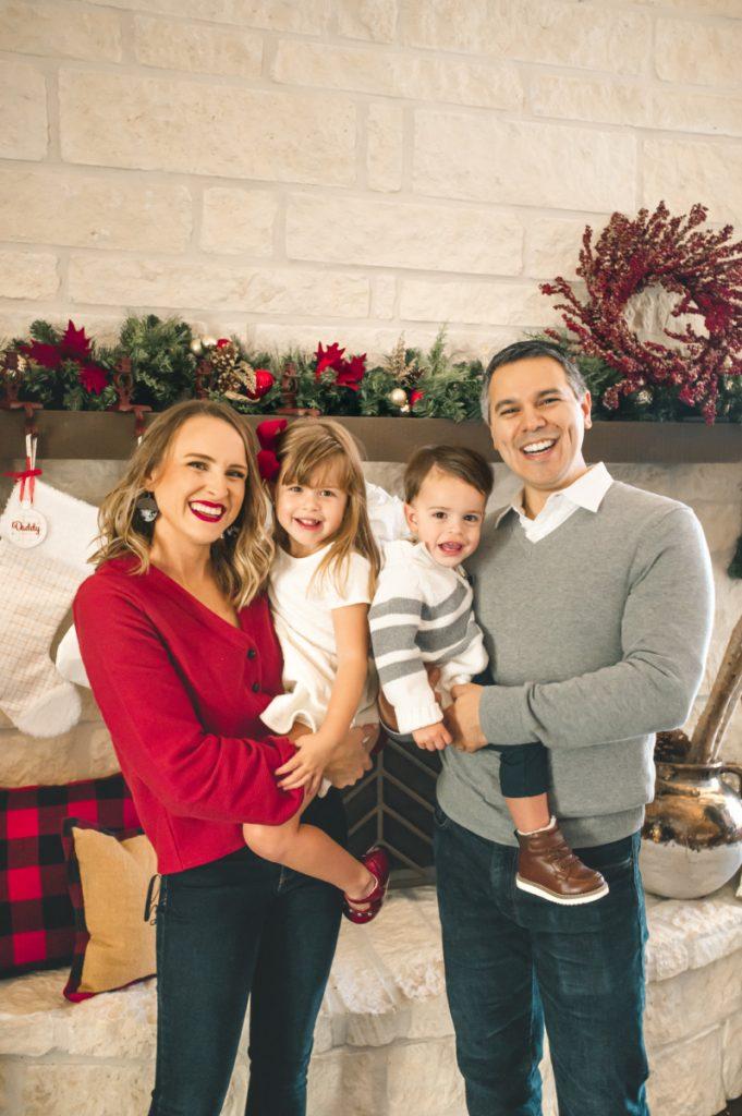 Family of 4 Christmas