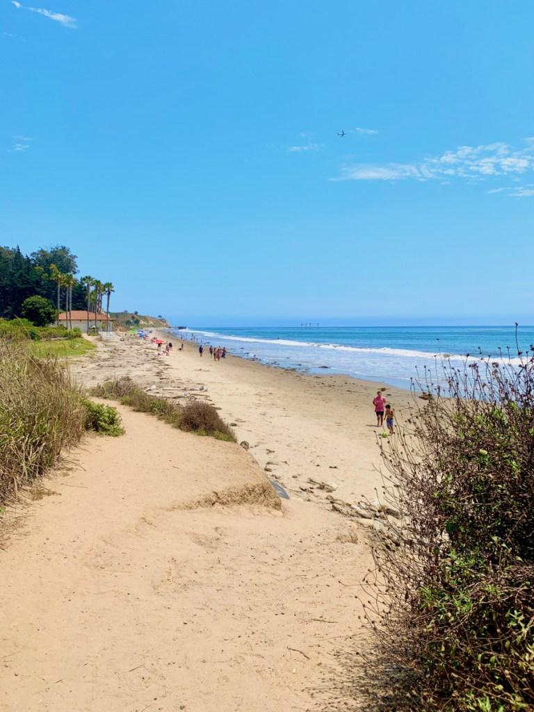 Bacara beach access