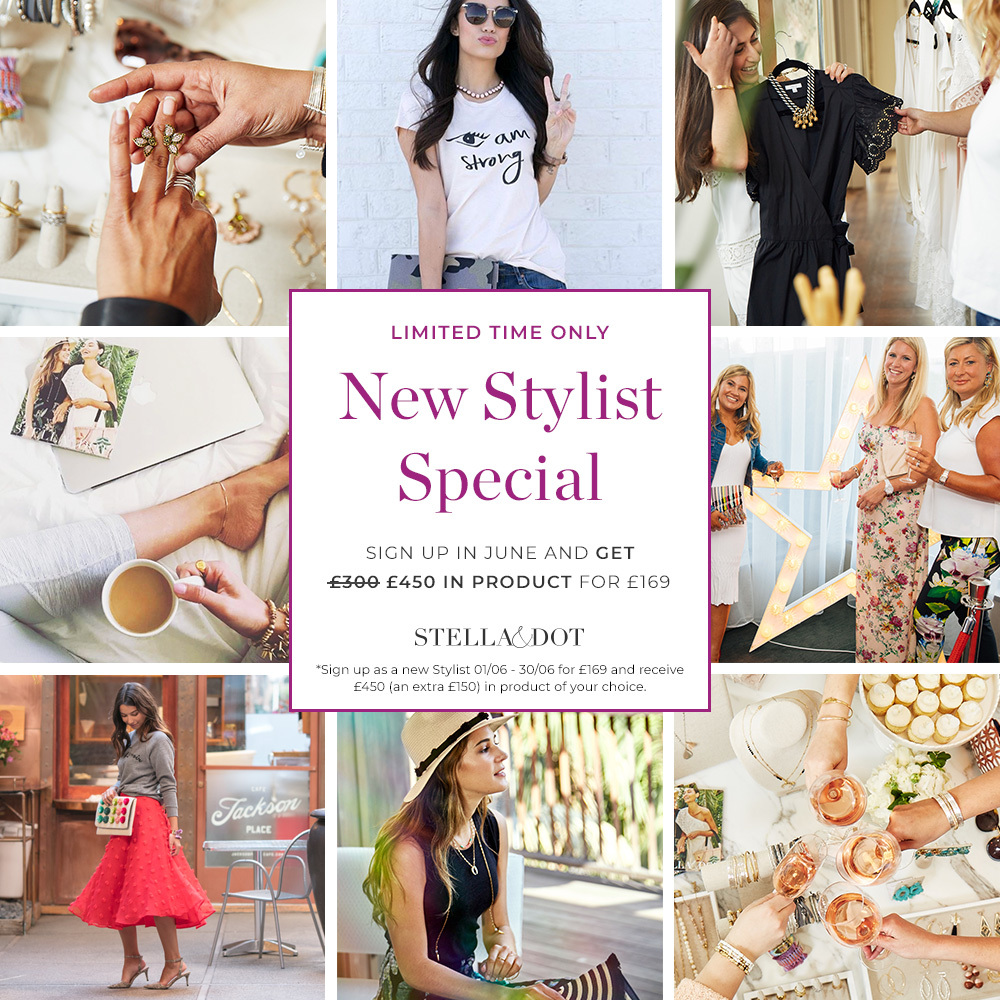June – become a Stylist offer