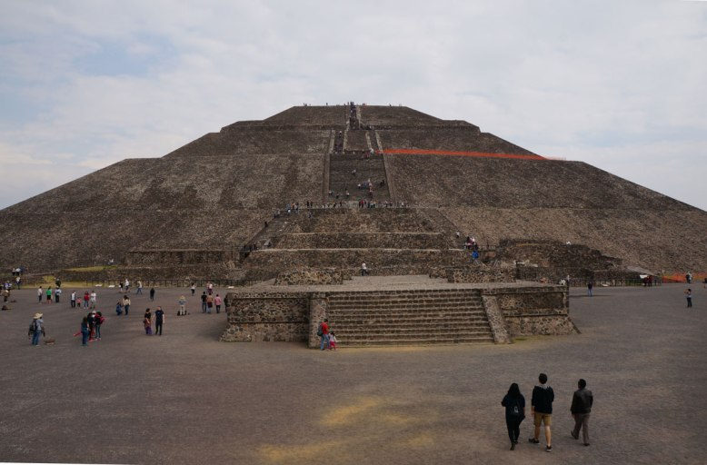 pyramid of the sun, teotihuacon