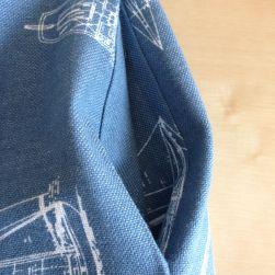 Boat skirt pocket
