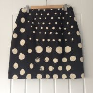 Spotty Skirt finished