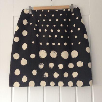 Spotty Skirt finished