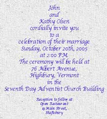Modern Wedding Invitation Wording From Bride And Groom